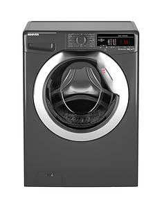 Hoover Dynamic Next DXOA410C3R 10kg Load, 1400 Spin Washing Machine with One Touch - Graphite