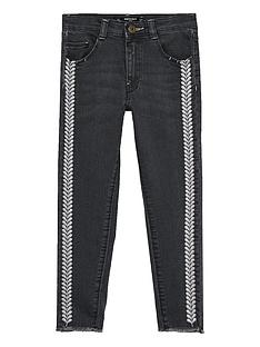 mango-girls-embroiderednbspskinny-jean-black