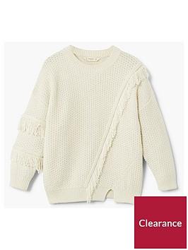mango-girls-fringe-knitted-jumper-white