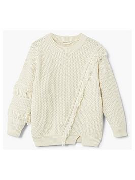 mango-girls-fringe-knitted-jumper