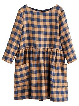 mango-girls-check-pocket-front-dress