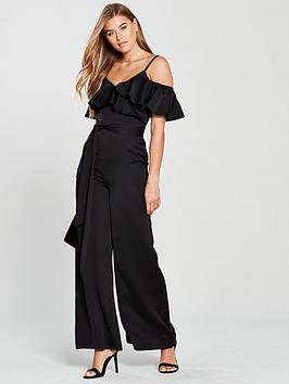 v-by-very-cold-shoulder-soft-jumpsuit-black