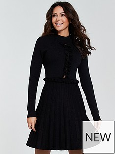 michelle-keegan-lace-insert-knitted-dress-blacknbsp