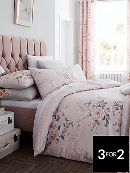 catherine-lansfield-canterbury-glitter-duvet-cover-set