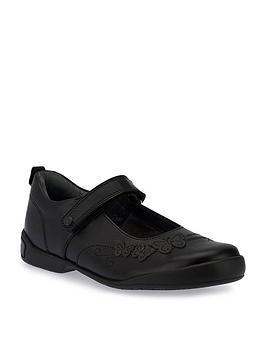 start-rite-pump-girls-shoes-black