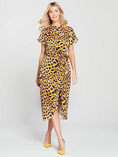 river-island-river-island-waisted-midi-dress-leopard