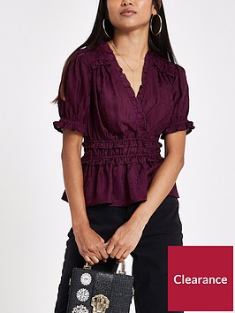 ri-petite-ruffle-tea-top-red