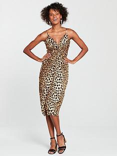 river-island-river-island-knot-front-slip-dress-leopard