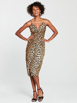 river-island-river-island-knot-front-slip-dress-leopard