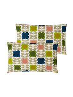 orla-kiely-house-summer-flower-stem-100-cotton-housewife-pillowcase-pair