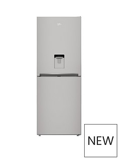 beko-cfg1790ds-70cmnbspfrost-free-fridge-freezer-with-non-plumbed-water-dispenser-silver