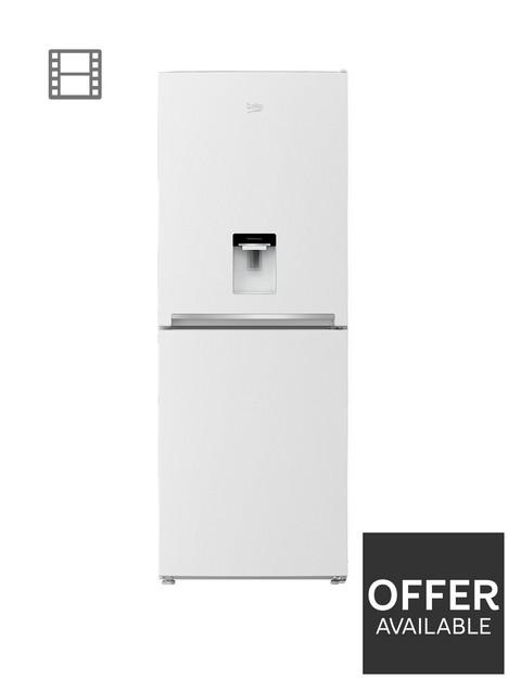 beko-cfg1790dw-70cm-frost-free-fridge-freezer-with-non-plumbed-water-dispenser-white