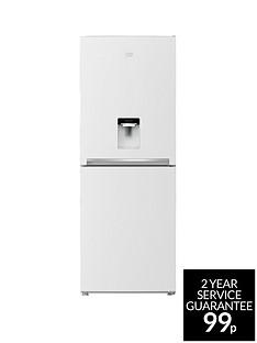 Beko CFG1790DW 70cm Frost Free Fridge Freezer with Non-Plumbed Water Dispenser - White