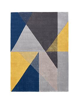 ideal-home-design-matters-triangle-geo-rug-160x230cm