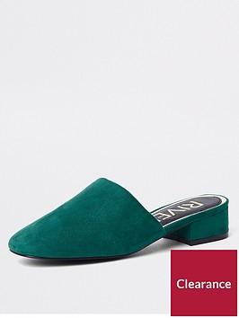 river-island-river-island-block-heel-backless-shoe-green