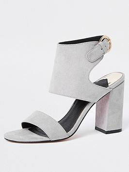 river-island-block-heel-sandal-grey