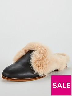 kg-kg-mason-faux-fur-low-heeled-backless-mule-shoe