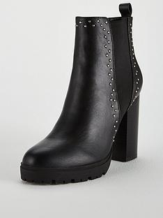 kg-trinity-2-heeled-ankle-boot-ndash-black