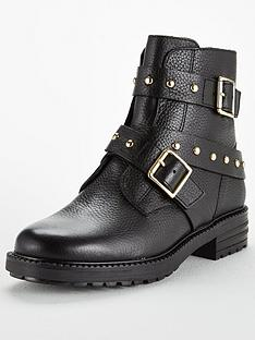 kurt-geiger-london-kurt-geiger-stinger-buckle-biker-ankle-boot