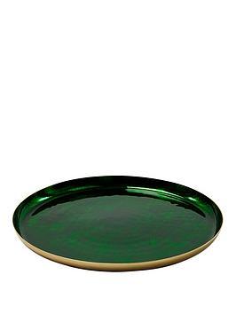 monsoon-green-metal-tray