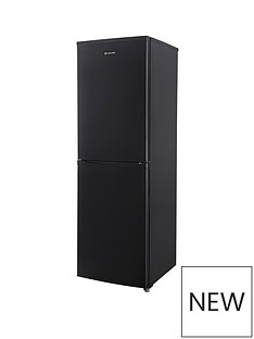 Russell Hobbs Black 55cm Wide 173cm High Fridge Freezer