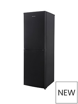 russell-hobbs-black-55cm-wide-173cm-high-fridge-freezer