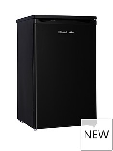 russell-hobbs-black-under-counter-50cm-wide-freestanding-larder-fridge