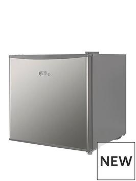 kuhla-stainless-steel-effect-table-top-fridge