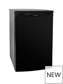 russell-hobbs-freestanding-55cm-wide-black-under-counter-fridge