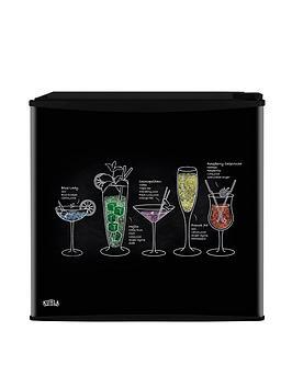 Kuhla Cocktail Design Table Top Fridge