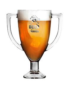 trophy-shaped-pint-glass