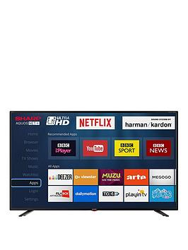 Sharp Lc-40Ui7352K 40 Inch, Ultra Hd, Freeview Hd, Smart Tv