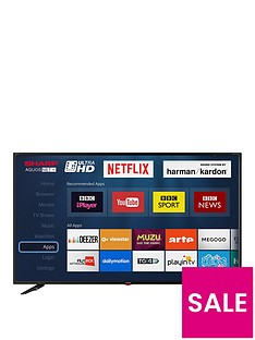 Sharp LC-49UI7352K 49 inch, Ultra HD, Freeview HD, Smart TV