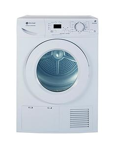 White Knight B96M8WR 8kg Sensor Condensor Tumble Dryer - White