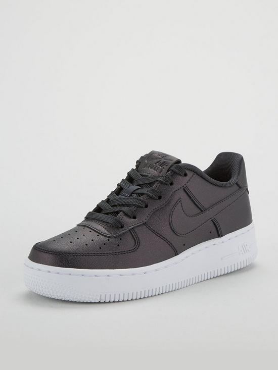 db2fe95bf74df Nike Air Force 1 Junior - Dark Grey