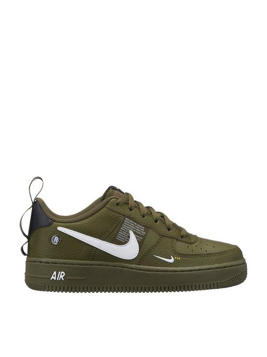 Nike Nike Air Force 1 Lv8 Utility Junior Trainer | very.co.uk