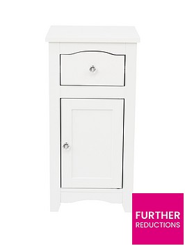 lloyd-pascal-bude-1-door-1-drawer-bathroom-cabinet-includes-chrome-and-crystal-handles