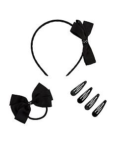 mini-v-by-very-schoolwear-hair-accessory-set-black