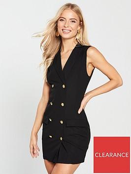 ax-paris-sleeveless-blazer-dress