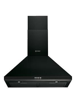 indesit-ihpc64amk-60cm-chimney-cooker-hood-black