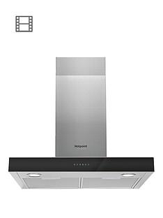 hotpoint-phbs68fltix-70cmnbspwide-cooker-hood-stainless-steelblack