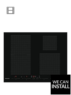 hotpoint-acc654fne-65cm-induction-hob-black-with-optional-installation