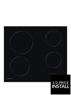 indesit-ri161c-60cm-ceramic-hob-black-with-optional-installation