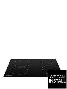 indesit-ri161c-60cmnbspbuilt-in-ceramic-hob-with-optional-installation-black