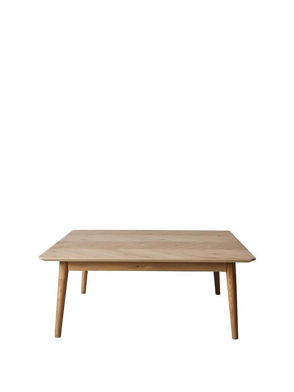 Hudson Living Milano Large Square Coffee Table Verycouk