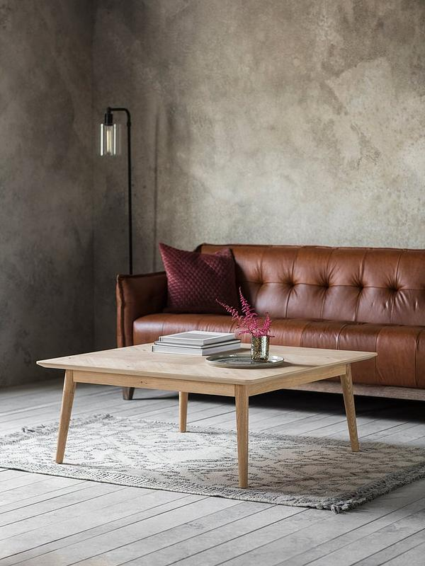 Milano Large Square Coffee Table