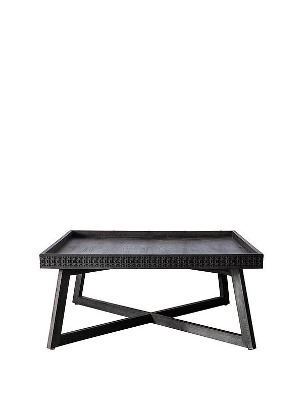 Boho Large Square Coffee Table