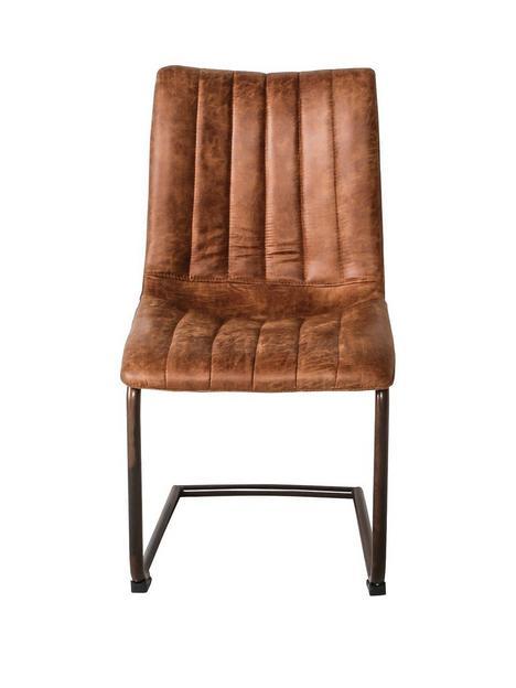 hudson-living-pair-of-edingtonnbspfaux-leather-dining-chairs-brown