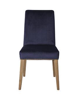 hudson-living-pair-of-rex-velvet-dining-chairs--blue