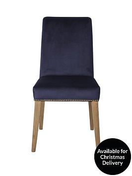 hudson-living-pair-of-rex-velvet-dining-chairs-blue
